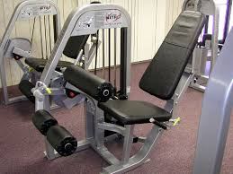 Nautilus Bench Press Machine Our Equipment Olympic Fitness Club