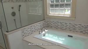 remodeling a bathroom part 16 basco shower enclosure youtube