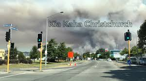 Fire Evacuations Nz by Christchurch Fire Continues Youtube