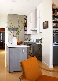 two tone cabinets in kitchen design ideas small kitchen design in contemporary kitchen with
