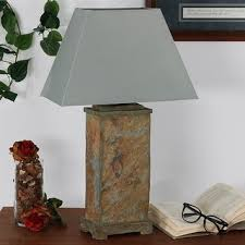 uttermost 1 light slate and copper accent lamp free shipping