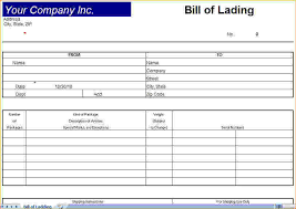 bill of lading pdf simple bill of lading template 11 free word