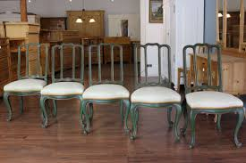 Esszimmer Stuehle 5 Stühle Esszimmerstühle Gustavian Sweden Chair 02555