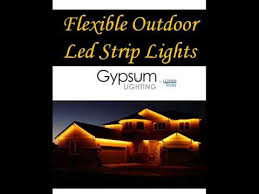 Exterior Led Strip Lighting Flexible Outdoor Led Strip Lights Youtube