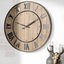 wall clocks northrop wine barrel 24 wall clock reviews joss main