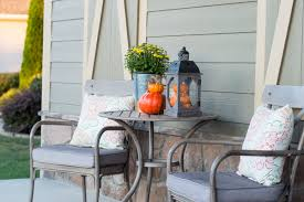 Fall Patio Easy Fall Porch Decor In Just 10 Minutes The Home I Create