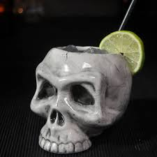 skull cocktail mug by bespoke barware notonthehighstreet com