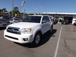 toyota 4runner 2006 for sale 2006 toyota 4runner sport edition in la mesa ca speed auto gallery