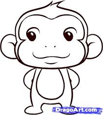Coloring Magnificent Draw Monky Monkey Art
