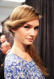 open hairstyles for round face dailymotion wedding hair trends for 2013 side pony side ponytails and ponytail