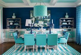 Aqua Dining Room Aqua Navy Dining Room Makeover With Benjamin Moorepencil