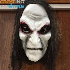 realistic costumes aliexpress buy hot new mask hair ghost mask