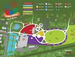 Festival Map Home Powell Festival