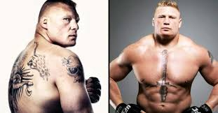 the fearsome tattoos of ufc wwe champion brock lesnar tattoodo