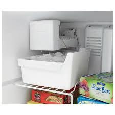 whirlpool under cabinet ice maker wrt348fmez whirlpool 30 18 cu ft top freezer refrigerator with