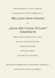 wedding invitations kerala marriage invitation letter format