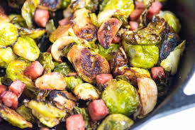 brussel sprouts for thanksgiving roasted brussels sprouts recipe with ham