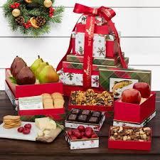 gift towers christmas fruit baskets gifts the fruit company