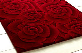 elite class red rugs