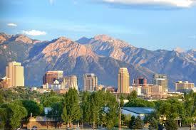 Map Of Salt Lake City Utah by