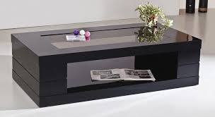 black and glass coffee table popular of design for glass top coffee table ideas coffee tables