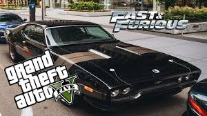 fast and furious 8 cars fast and furious 8 dans gta5 avoir la plymouth gtx de dom