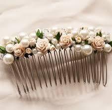 hair comb accessories hair combs hair flowers on rosa pearl and flower hair comb