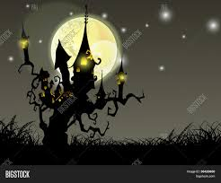 halloween haunted house background images halloween full moon night background with haunted house and dead