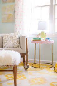 Yellow Baby Room by Bright And Airy Nursery With The Baby Relax Luna Collection Lay
