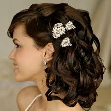 shoulder length hair wedding styles bridal hairstyles for shoulder