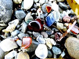 beach of glass the iconic glass beach in fort bragg ca kellogg show