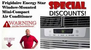 8000 Btu Window Air Conditioner Reviews Frigidaire Ffre0833q1 Energy Star 8 000 Btu 115v Window Mounted