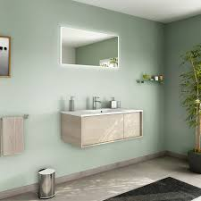 fabriquer meuble salle de bain beton cellulaire meuble de salle de bains de 80 à 99 brun marron neo frame