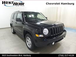 jeep patriot 2016 black jeep patriot in buffalo ny west herr auto group