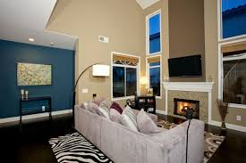 Interior Design High Ceiling Living Room 26 Blue Living Room Ideas Interior Design Pictures Designing Idea