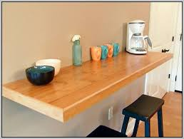 Floating Bar Table Cool Wall Mounted Bar Table With Wall Mounted Breakfast Bar Best