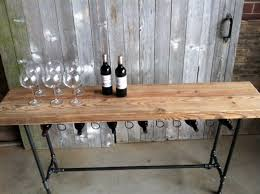 reclaimed wood wine bar table reclaimed furniture small sofa