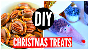 diy christmas treats and gifts holiday snack ideas 2015 youtube