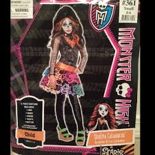 67 off party city accessories monster high skelita halloween