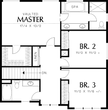 second floor plans morrison house plan 5542 second floor home house