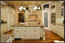 rustic kitchen best antique white kitchen cabinets decor ideas