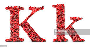alphabet k stock photo getty images