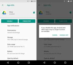 disable app android how to disable a stock app on android no root