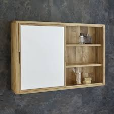 Bathroom Cabinet And Mirror Generously Small Oak Bathroom Wall Cabinet Optronk Home With