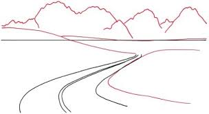 How To Draw Landscapes by How To Draw A Mountain Vista How To Draw A Mountain Vista