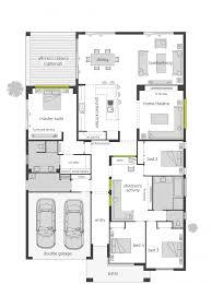 modern homes design sloping block house down slope plans 9 second