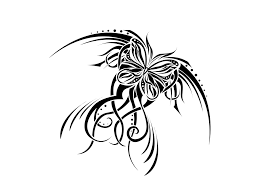 butterfly flowers tattoo design all tattoos for men