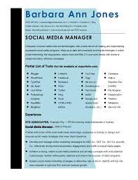 social media resume cmmaao pmi resume template social media manager shalomhouse us