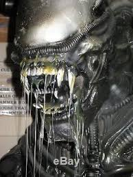 alien 7 foot lifesize prop statue