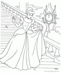 disney princess cinderella coloring pages free downloads coloring